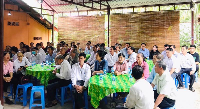 Các đại biểu tại lớp tập huấn.