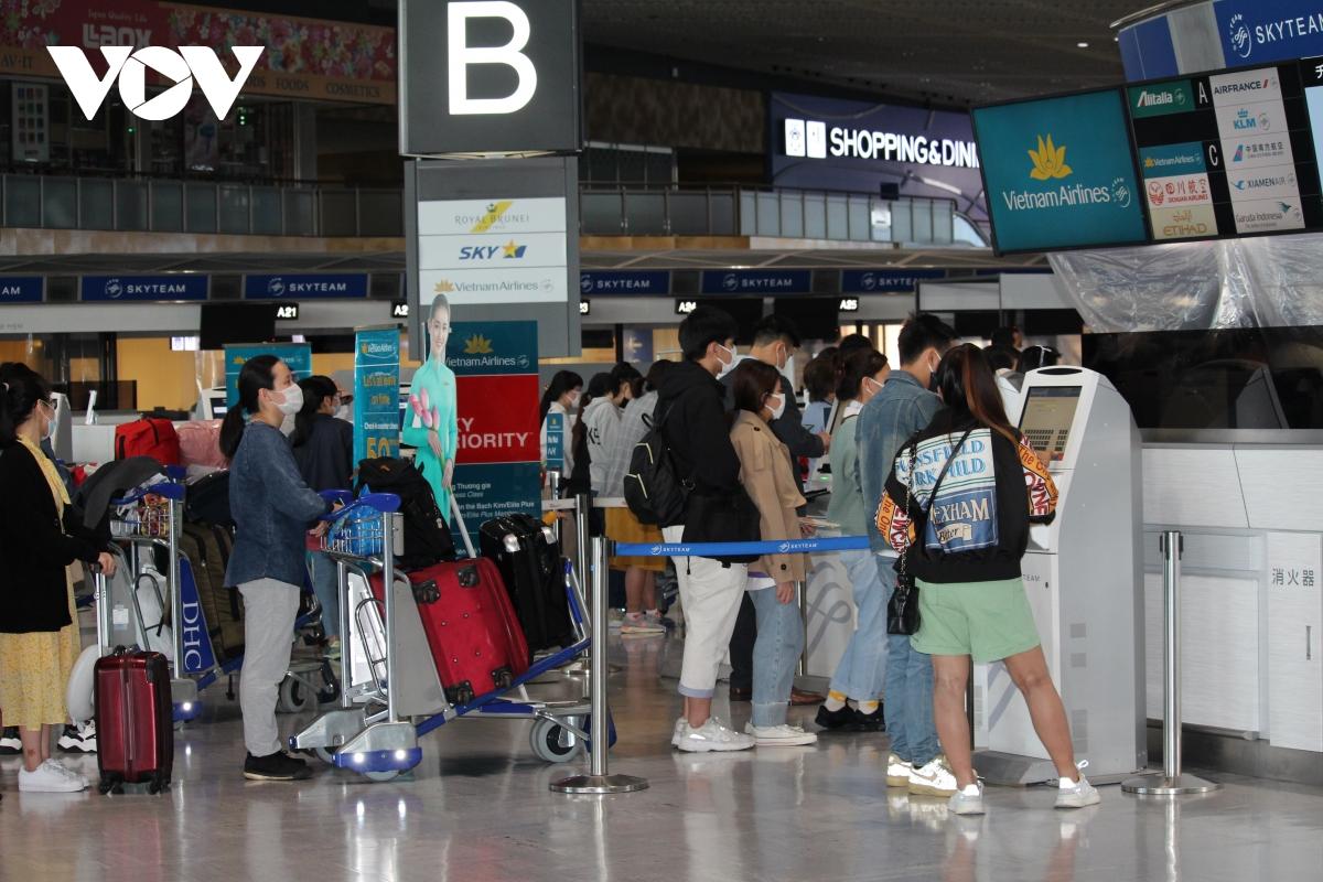 Đây là chuyến bay thương mại đầu tiên tới Nhật Bản sau thời gian dài bị tạm dừng do đại dịch Covid-19.