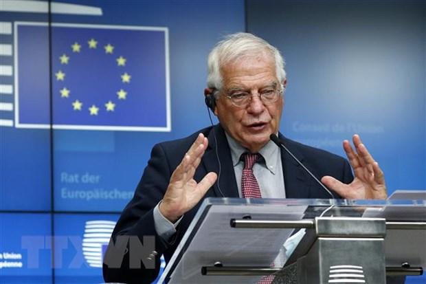 Đại diện cấp cao về chính sách đối ngoại và an ninh của EU Josep Borrell. Ảnh: AFP/TTXVN