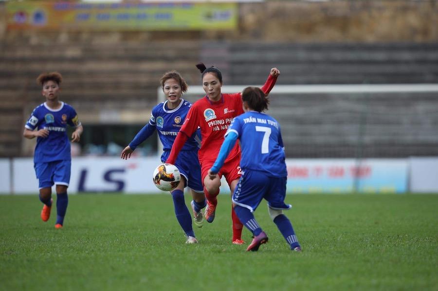 Phong Phú Hà Nam chia điểm trước Thái Nguyên T&T.
