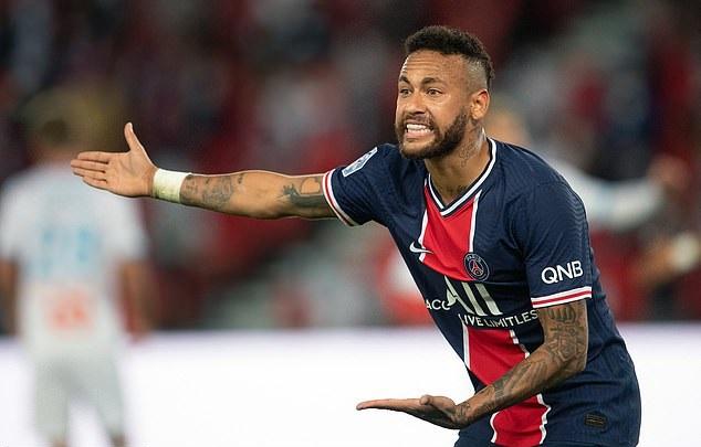 Neymar bị cáo buộc phân biệt chủng tộc với hậu vệ Marseille