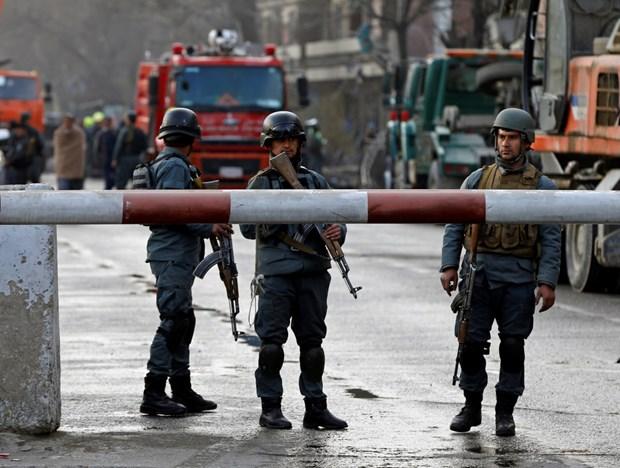Lực lượng an ninh Afghanistan. Nguồn: AP