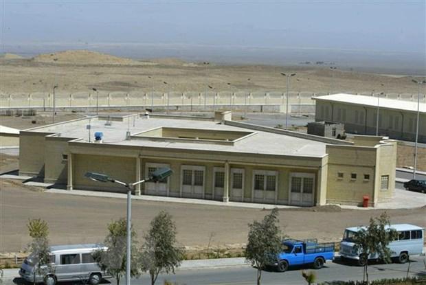Nhà máy điện hạt nhân Natanz, nằm cách thủ đô Tehran, Iran khoảng 270km về phía Nam. (Ảnh: AFP/TTXVN)
