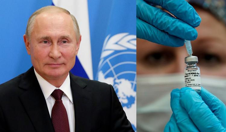 Tổng thống Putin đề nghị cung cấp vaccine COVID-19 miễn phí cho nhân viên LHQ. Ảnh: Reuters