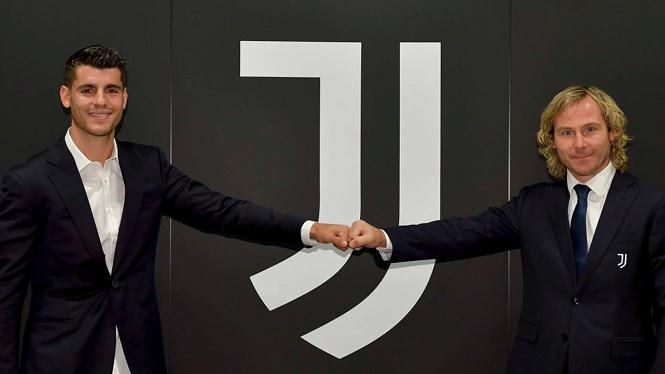 Morata trở lại Juventus theo hợp đồng cho mượn