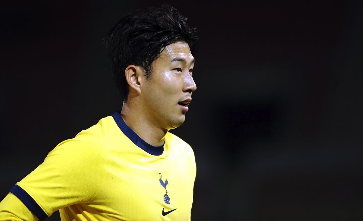 Son Heung-Min ghi bàn và kiến tạo giúp Tottenham giành chiến thắng 3-1 trước KF Shkendija. Ảnh: Getty