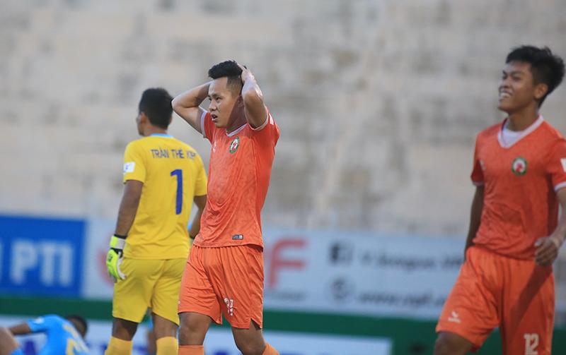 Bình Định chia điểm phút cuối với S. Khánh Hòa trên sân Quy Nhơn.