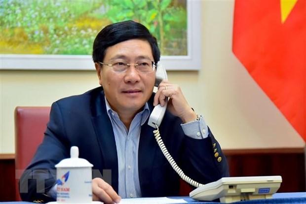 Phó thủ tướng, Bộ trưởng Ngoại giao Phạm Bình Minh. Nguồn: TTXVN