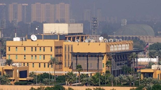 Đại sứ quán Mỹ tại Iraq. Nguồn: AP