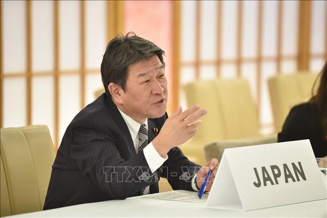 Ngoại trưởng Nhật Bản Toshimitsu Motegi. Ảnh: AFP/TTXVN