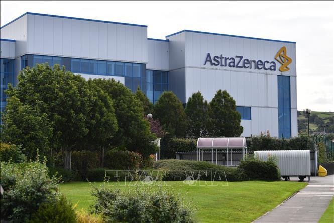 Trụ sở hãng dược phẩm AstraZeneca tại Macclesfield, Cheshire, Anh, ngày 21/7/2020. Ảnh: AFP/TTXVN