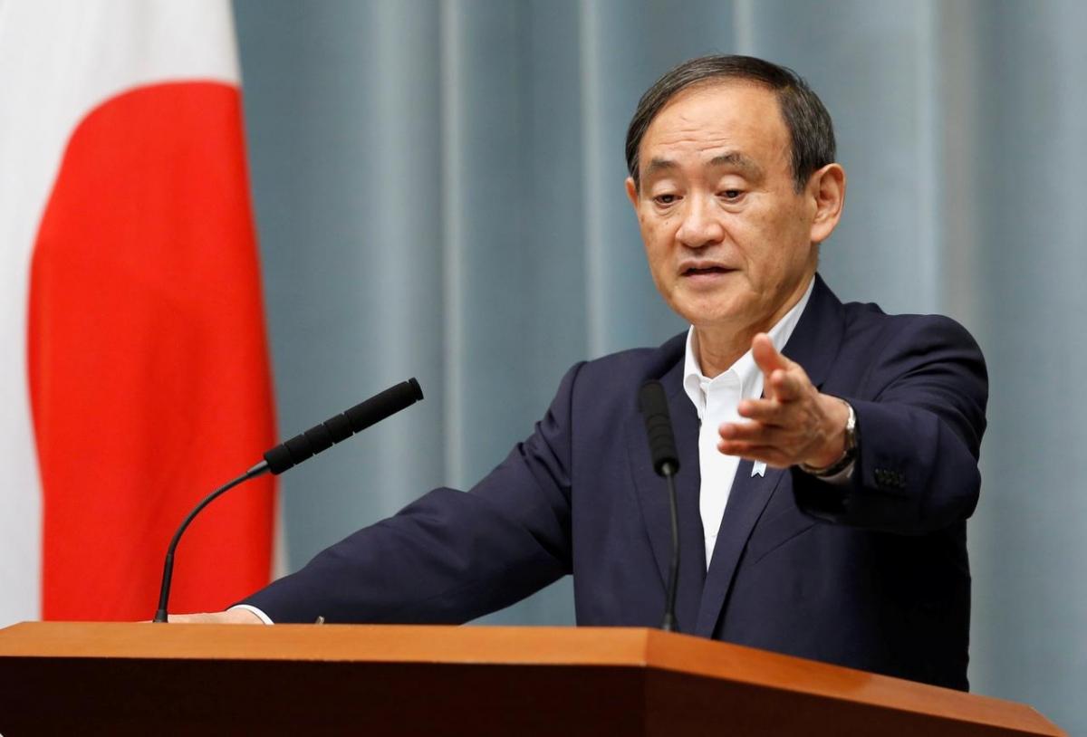 Thủ tướng Nhật Bản Suga Yoshihide. Ảnh: Reuters