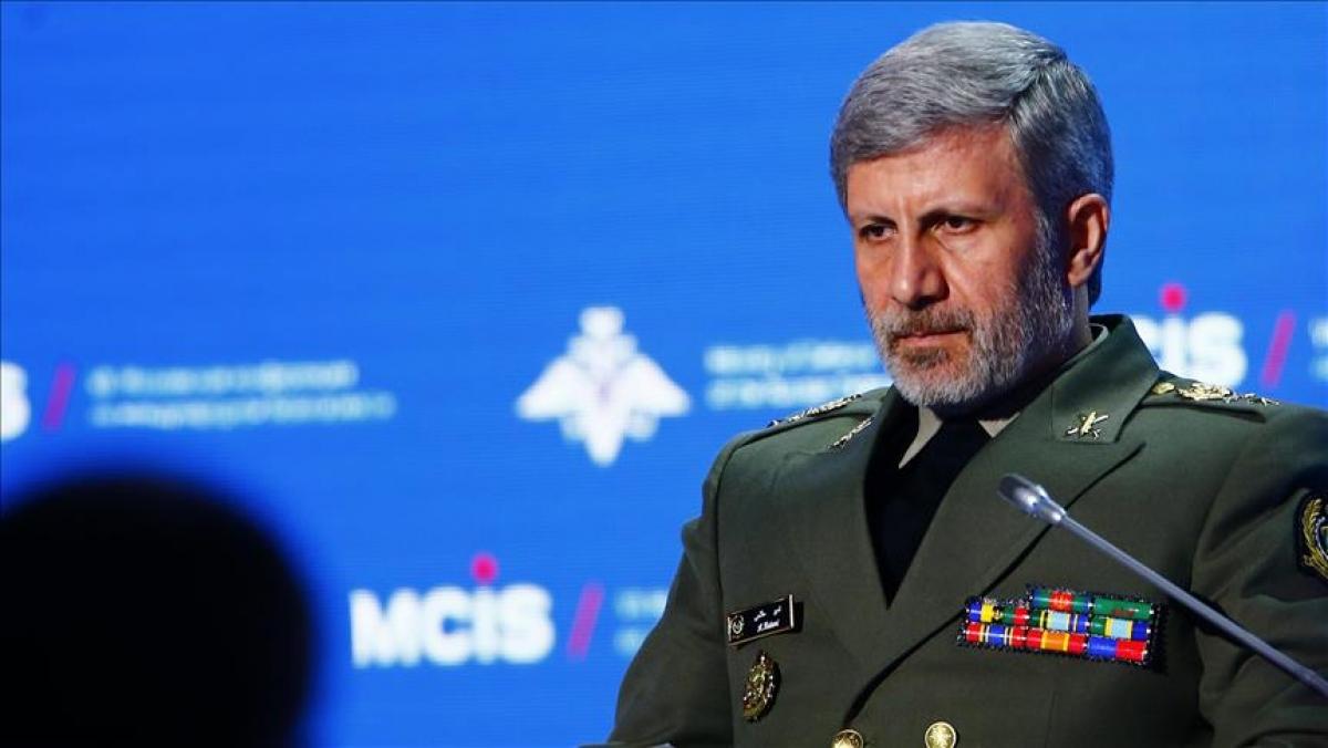 Bộ trưởng Quốc phòng Iran Amir Hatami. Ảnh: aa.com