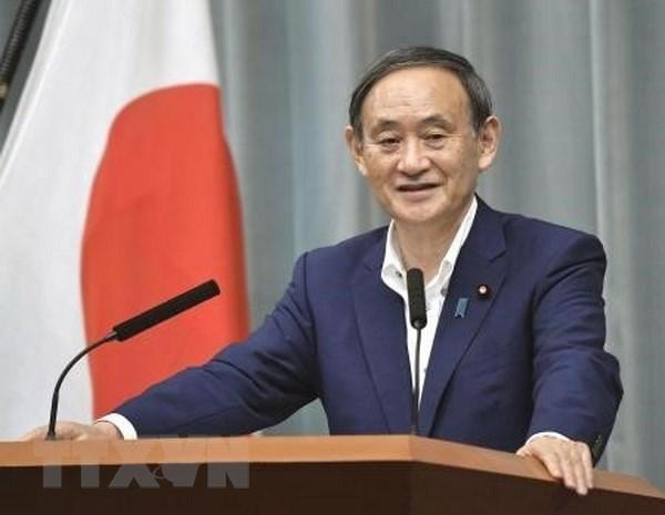 Thủ tướng Nhật Bản Yoshihide Suga. (Ảnh: Kyodo/TTXVN)