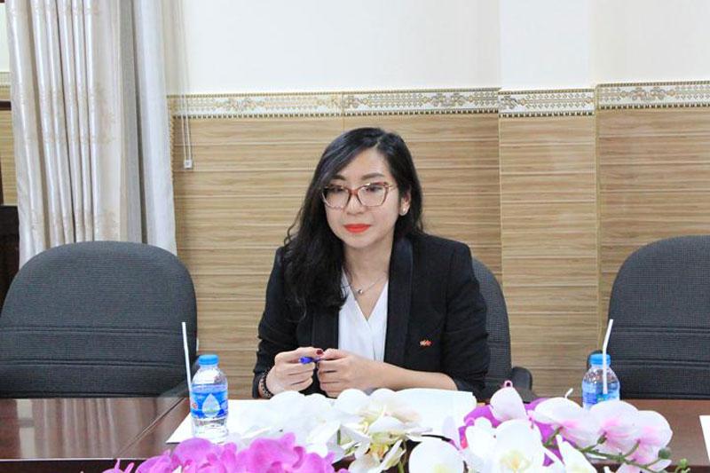 Bà Trần Thị Tuyết Mai - Trưởng Văn phòng Kinh tế thương mại Đan Mạch tại TP. Hồ Chí Minh, đại diện Đại sứ quán Đan Mạch.