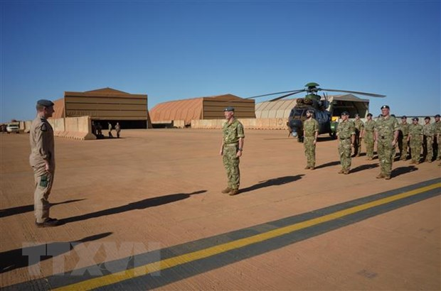 Binh sĩ Anh tại Gao, Mali, ngày 15-12-2019. Nguồn: AFP/TTXVN