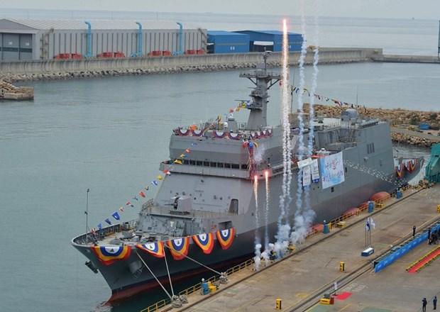 Tàu Hansando. (Ảnh: Navy Recognition)