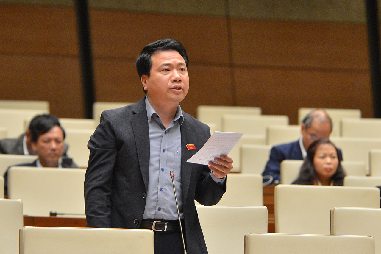 Đại biểu Ngô Trung Thành, Đoàn Đại biểu Quốc hội tỉnh Đắk Lắk.