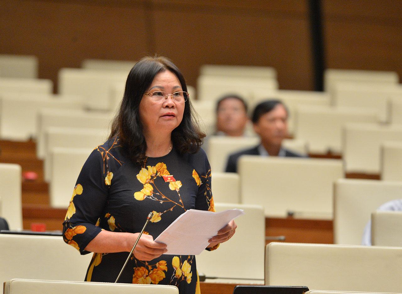 Đại biểu Trần Thị Dung, Đoàn Đại biểu Quốc hội tỉnh Điện Biên.