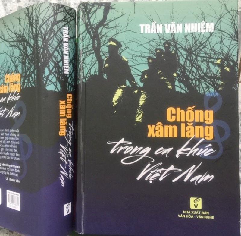"""Bìa quyển """"Chống xâm lăng trong ca khúc Việt Nam"""""""
