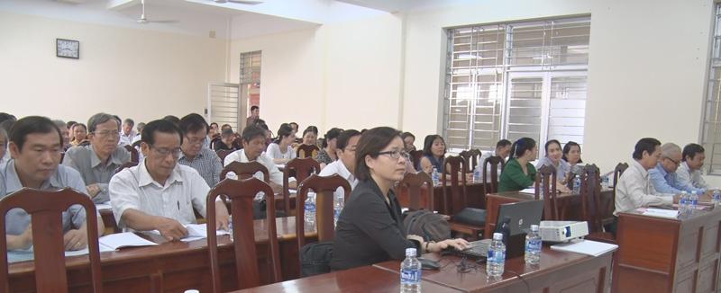 Quang cảnh lớp tập huấn. Ảnh: Nguyễn Hiệp.