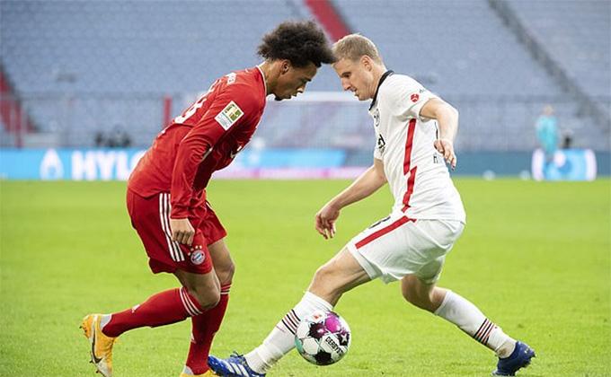 Sane ghi được 1 bàn thắng rất đẹp mang thương hiệu Robben