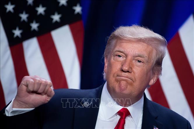 Tổng thống Mỹ Donald Trump. Ảnh: AFP/TTXVN