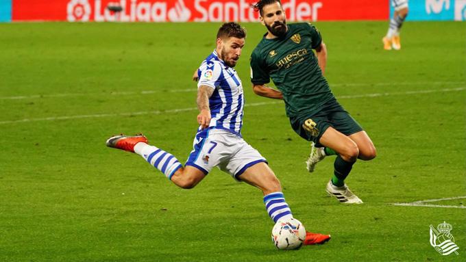 Portu ghi bàn thắng thứ 3 cho Sociedad