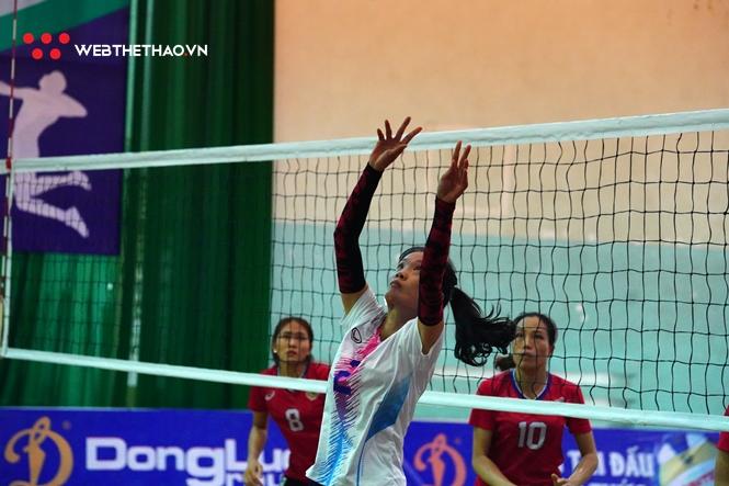 Nguyễn Thị Thủy là người không thể thay thế của đội bóng Thái Bình