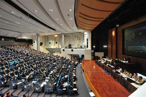 Một phiên họp của Quốc hội Thái Lan ở thủ đô Bangkok. (Ảnh: THX/TTXVN)