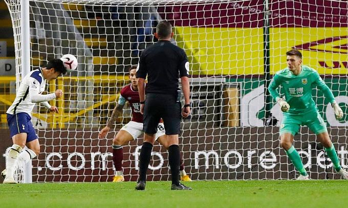 Son ghi bàn duy nhất của trận đấu ở phút 76