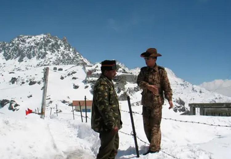 Khu vực biên giới Trung Quốc-Ấn Độ có thời thiết khắc nghiệt trong mùa Đông. Ảnh: Reuters