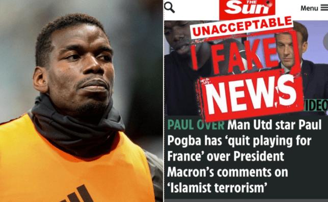 Pogba phủ nhận tin đồn sẽ rời đội tuyển Pháp vì tuyên bố của Tổng thống Macron