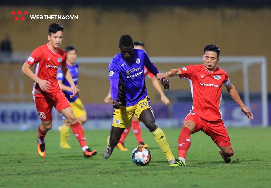 Viettel và Hà Nội chia điểm ở trận đấu không bàn thắng.