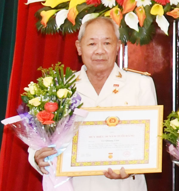 Ông Lê Quang Lớn.