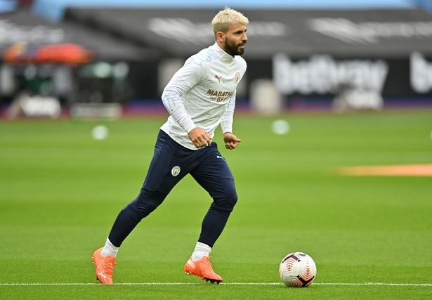 Aguero đã có thể tập luyện một mình vào ngày hôm qua