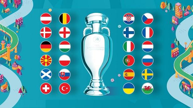 Vòng chung kết Euro 2020 đã xác định đủ 24 đội tuyển