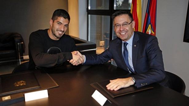 Suarez muốn gia hạn hợp đồng 4 năm với Barca nhưng không được chấp nhận