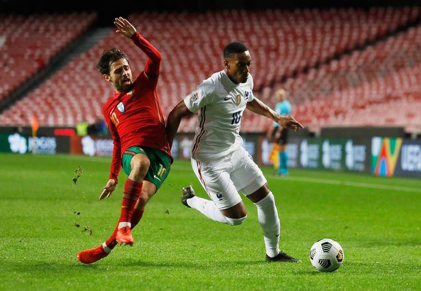 Martial đã chơi 78 phút ở trận Pháp thắng Bồ Đào Nha tại Nations League