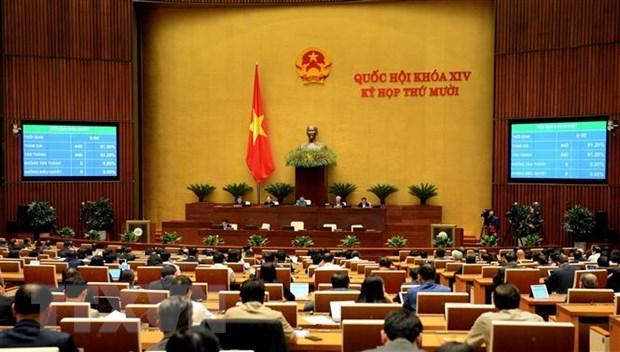 Một phiên họp của Quốc hội. Ảnh: Doãn Tấn/TTXVN