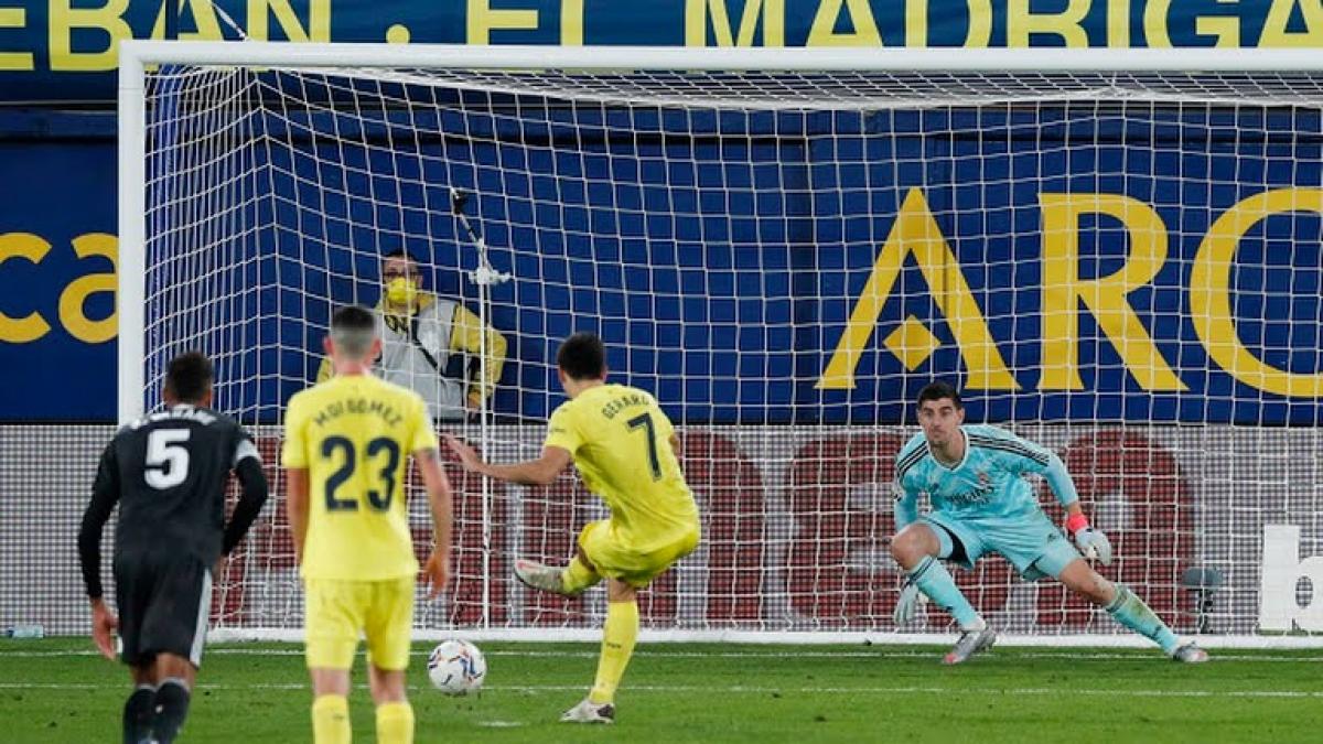 Villarreal cầm hòa Real Madrid. Ảnh: Reuters