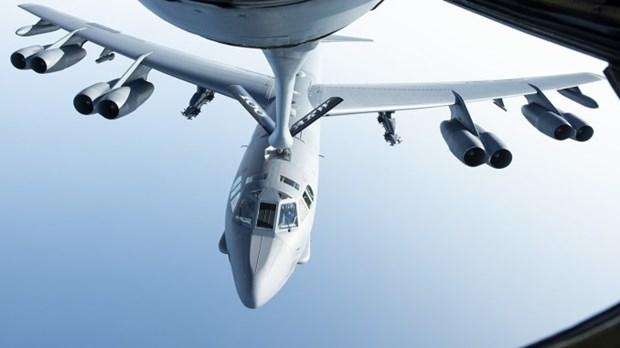 Máy bay ném bom hạng nặng B-52H Stratofortress của Mỹ. (Nguồn: theaviationist)