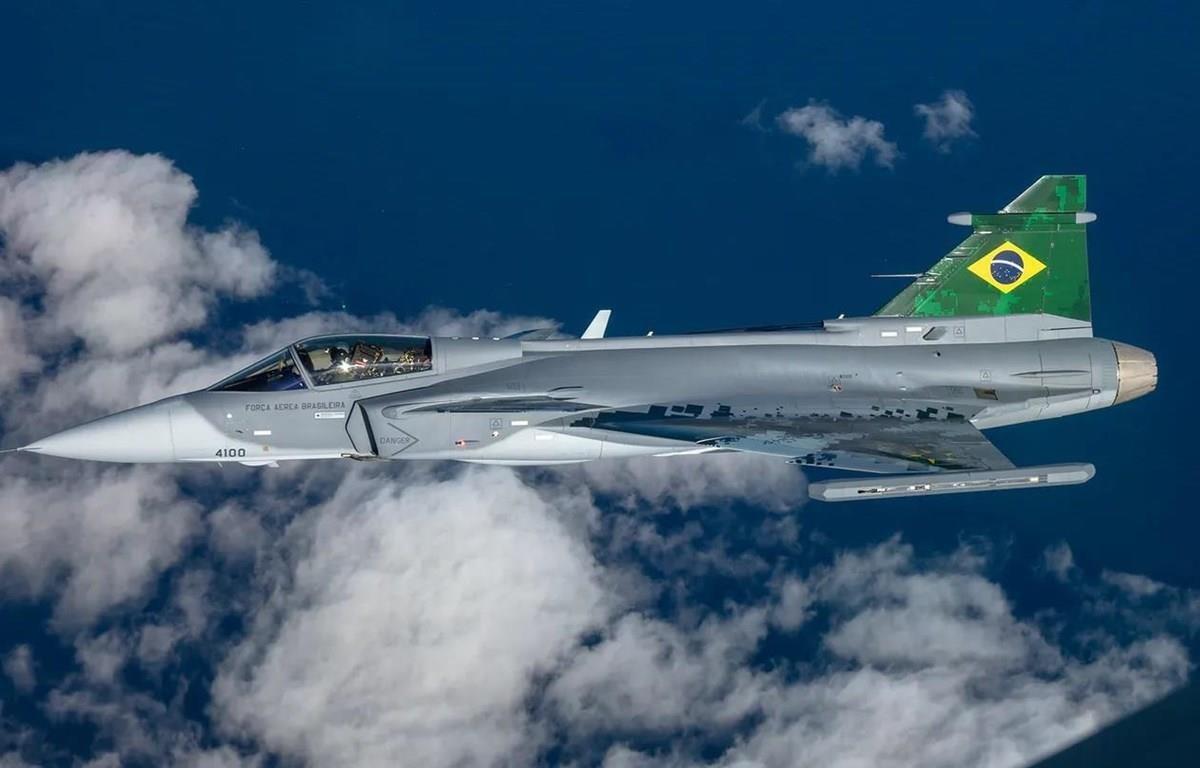 Loại tên lửa tầm xa này sẽ được trang bị cho máy bay Gripen của không quân Brazil. (Nguồn: Saab)