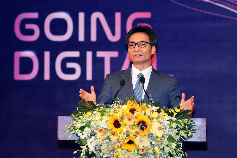"""Phó thủ tướng Vũ Đức Đam chia sẻ những """"từ khóa"""" đối với cộng đồng Start-up Việt Nam."""