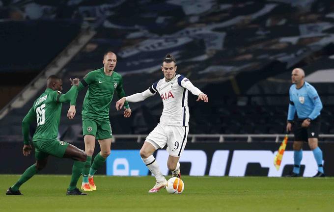 Bale khá vô duyên ở trận đấu này