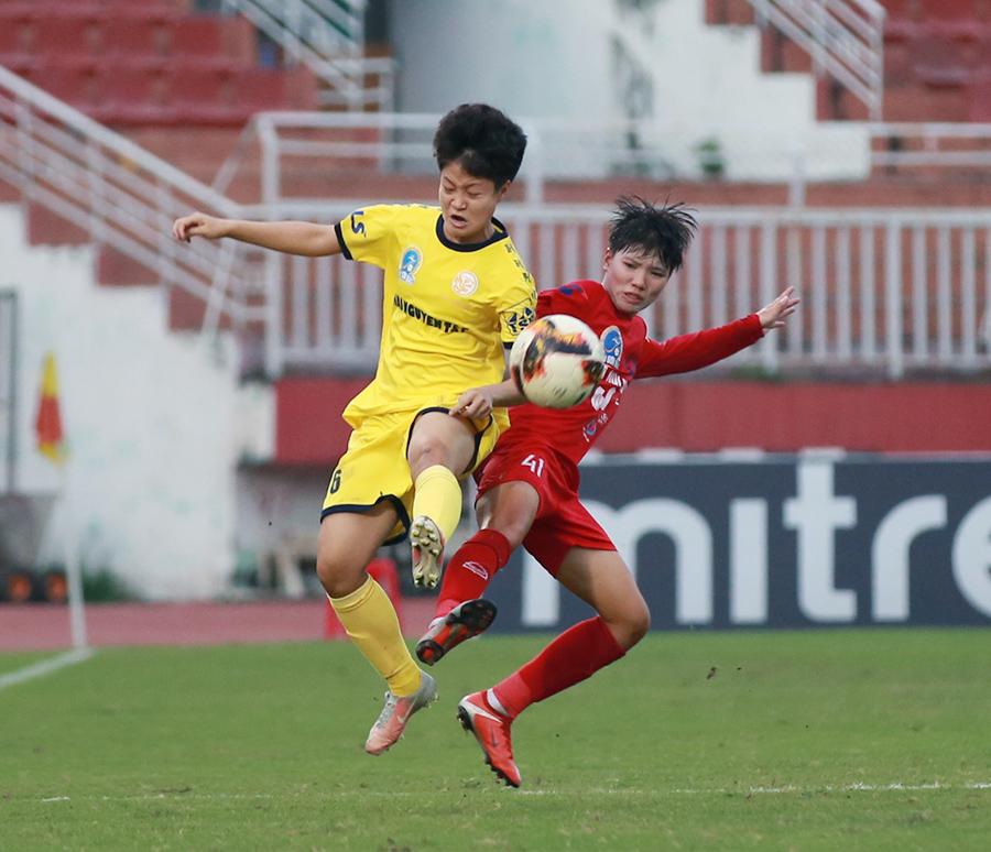 Hà Nội II cưa điểm 2-2 với Thái Nguyên T&T.