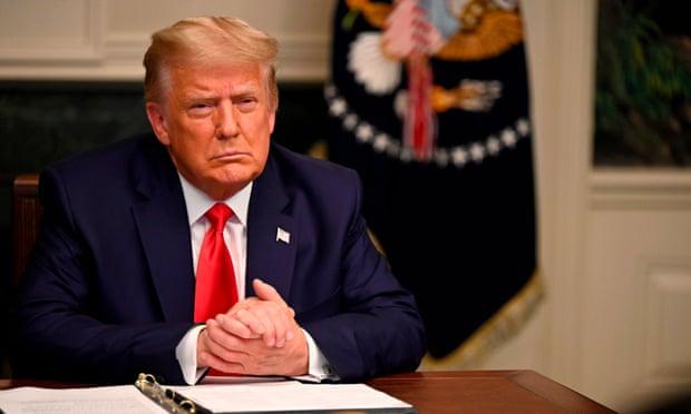Tổng thống Mỹ Donald Trump bày tỏ sẽ chấp nhận kết quả bỏ phiếu của đại cử tri đoàn. Ảnh: AP