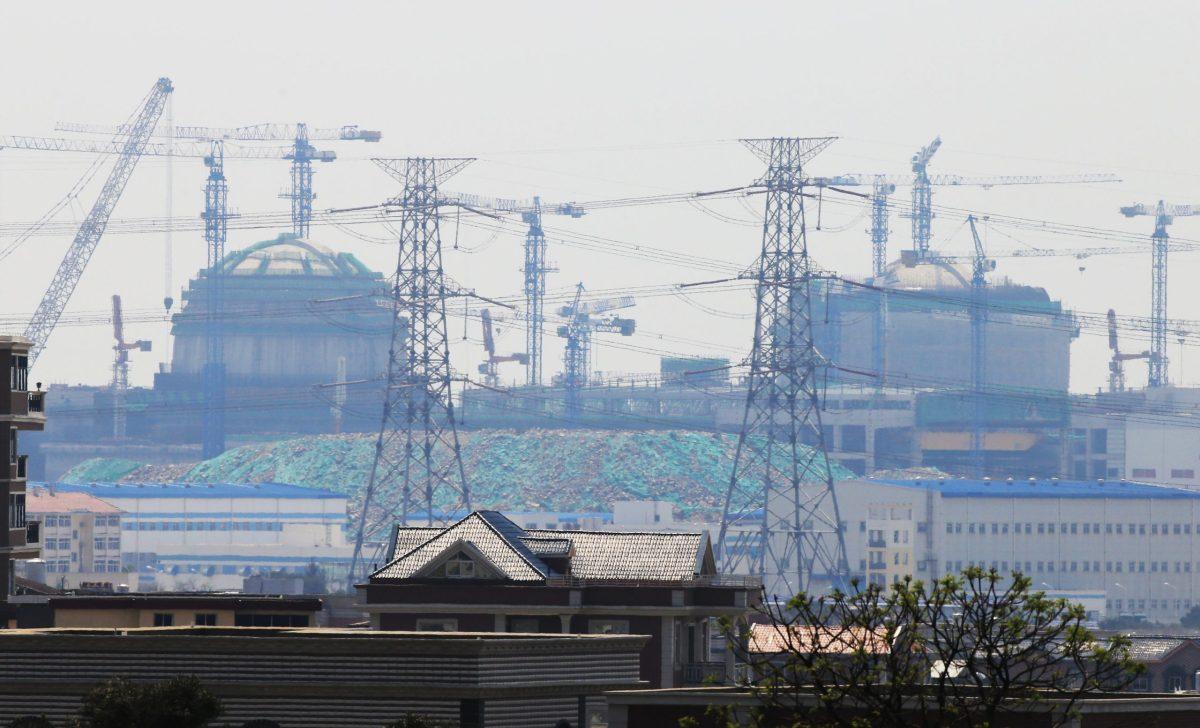 Một bức ảnh cho thấy Nhà máy điện hạt nhân Fuqing ở tỉnh Phúc Kiến, Trung Quốc, nơi đặt lò phản ứng Hualong One. Ảnh: AFP