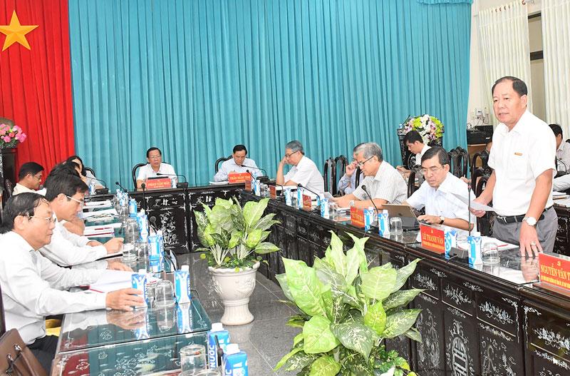 Các đại biểu tham dự Hội nghị Tỉnh ủy lần thứ hai năm 2020.