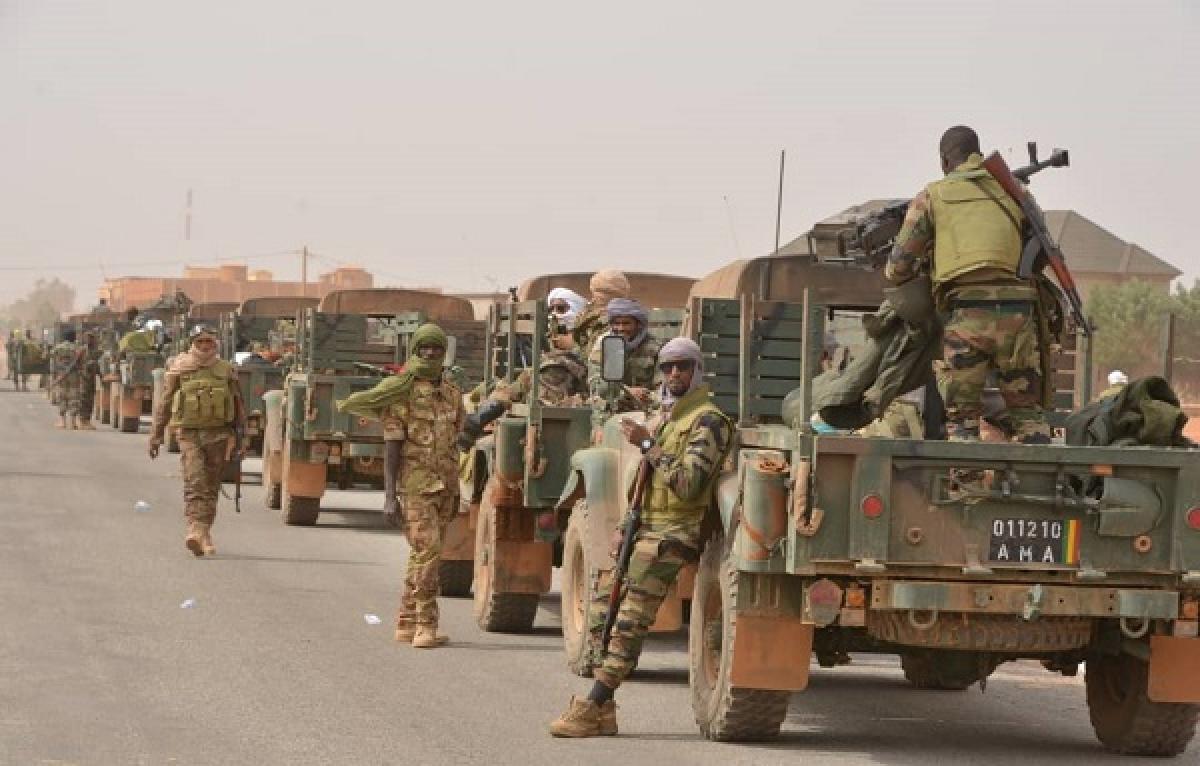 Quân đội Mali. Ảnh: DIRPA